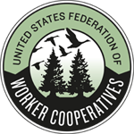 Worker Cooperative Events hosted by the USFWC Logo