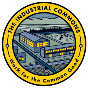 the industrial commons logo